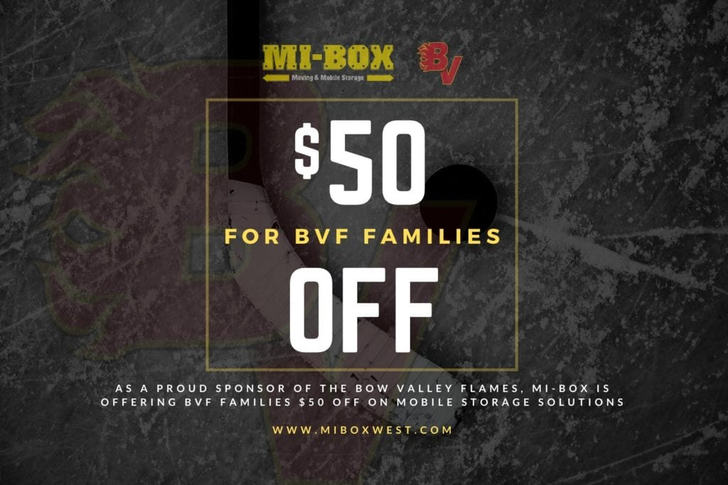 MI-BOX | Proud Sponsor of The Bow Valley Flames